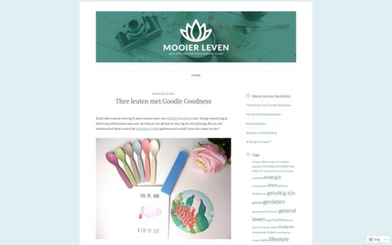 Mooier leven blog 02-2017