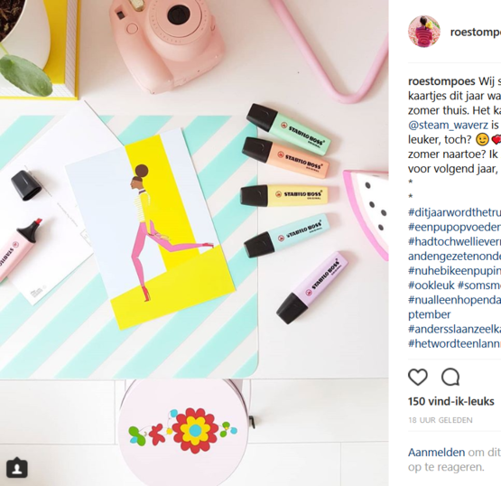 Roestompoes bloggers Insta 07-2018