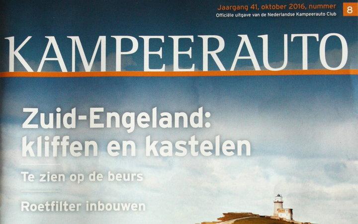 Kampeerauto magazine