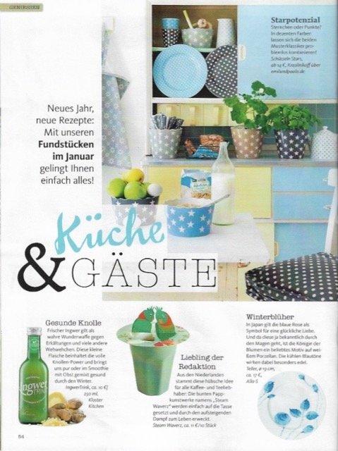 Duits Magazine: Living&More 01-2017