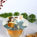 Steam Waverz Illustrated tea gift.Tea gift. Bedankje. thee kunstwerkjes, theeaccessoire,