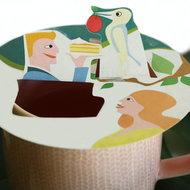 Thee accessoire Steam Waverz: Theekado, high tea uitnodiging, theebedankje